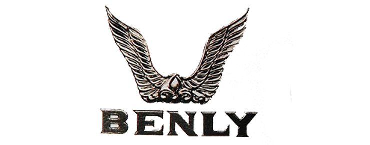 1953 The Benly Model Used Two Wings Honda Logo