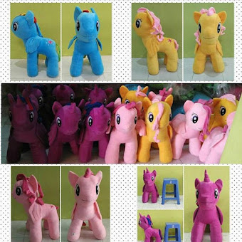 PUSAT GROSIR BONEKA LITTLE PONY JUMBO 60CM