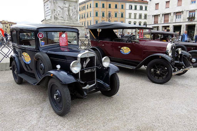 La Toscana e le su' genti, Tuscany and its People, vintage cars rally, Livorno