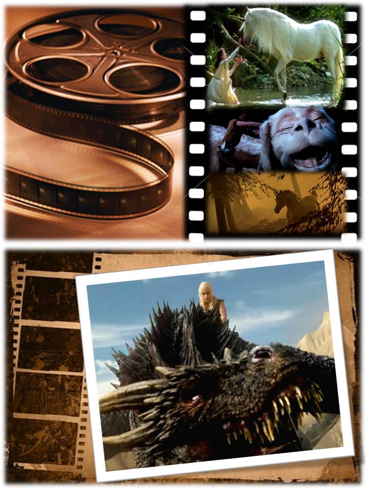FILMOGRAFIA DE UNICORNIOS Y DRAGONES