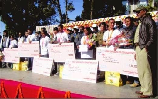 Meghalaya's Anish Thapa and Raiganj's Shyamali Singh Win Darjeeling Marathon