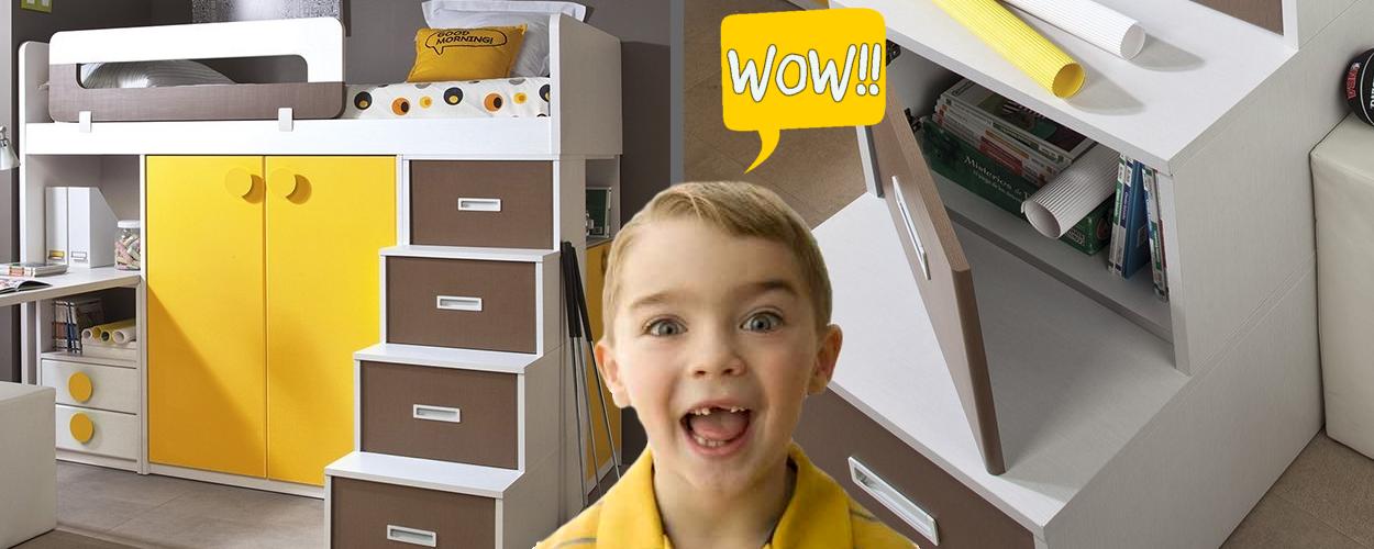 Decoraci n dormitorios juveniles for Muebles por internet