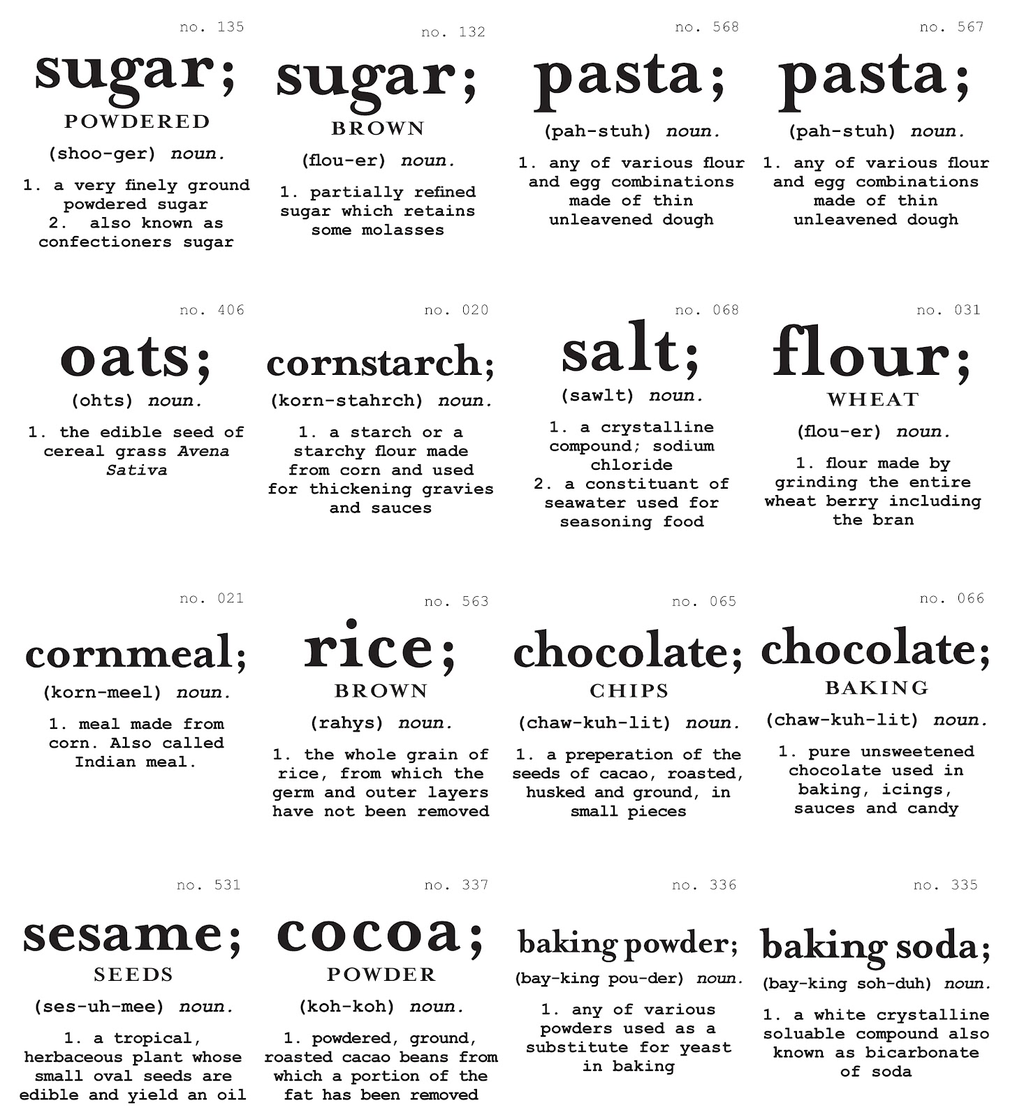 Adaptable image in free printable pantry labels