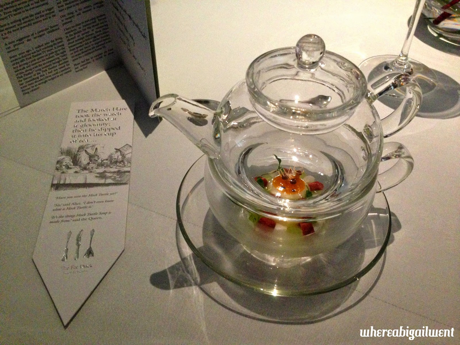 The Mad Hatter's Tea Party Heston Blumenthal