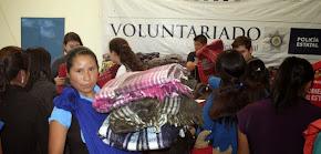 Abriga un corazón, campaña del Voluntariado de la SSP en beneficio de la Sierra de Zongolica