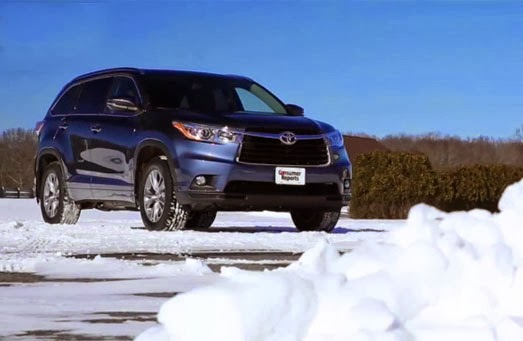 2014 toyota highlander review by consumer reports 4x4 cars. Black Bedroom Furniture Sets. Home Design Ideas