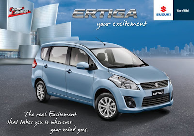 Wallpaper Suzuki Ertiga Keren