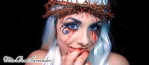 maquillaje vampira de victoria frances
