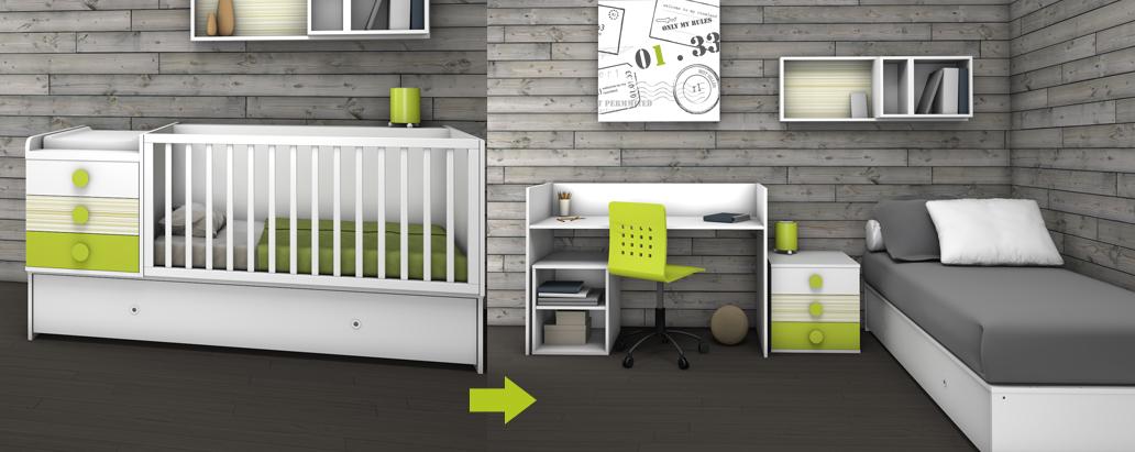 Cuna convertible easy desde 599 euros blog de muebles ros - Muebles a 1 euro ...