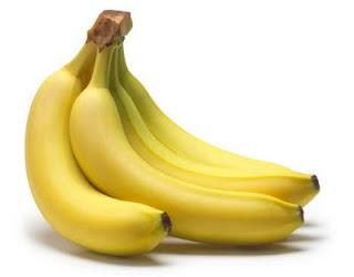 buah pisang emas kuning