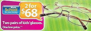 Walmart kids glasses coupons