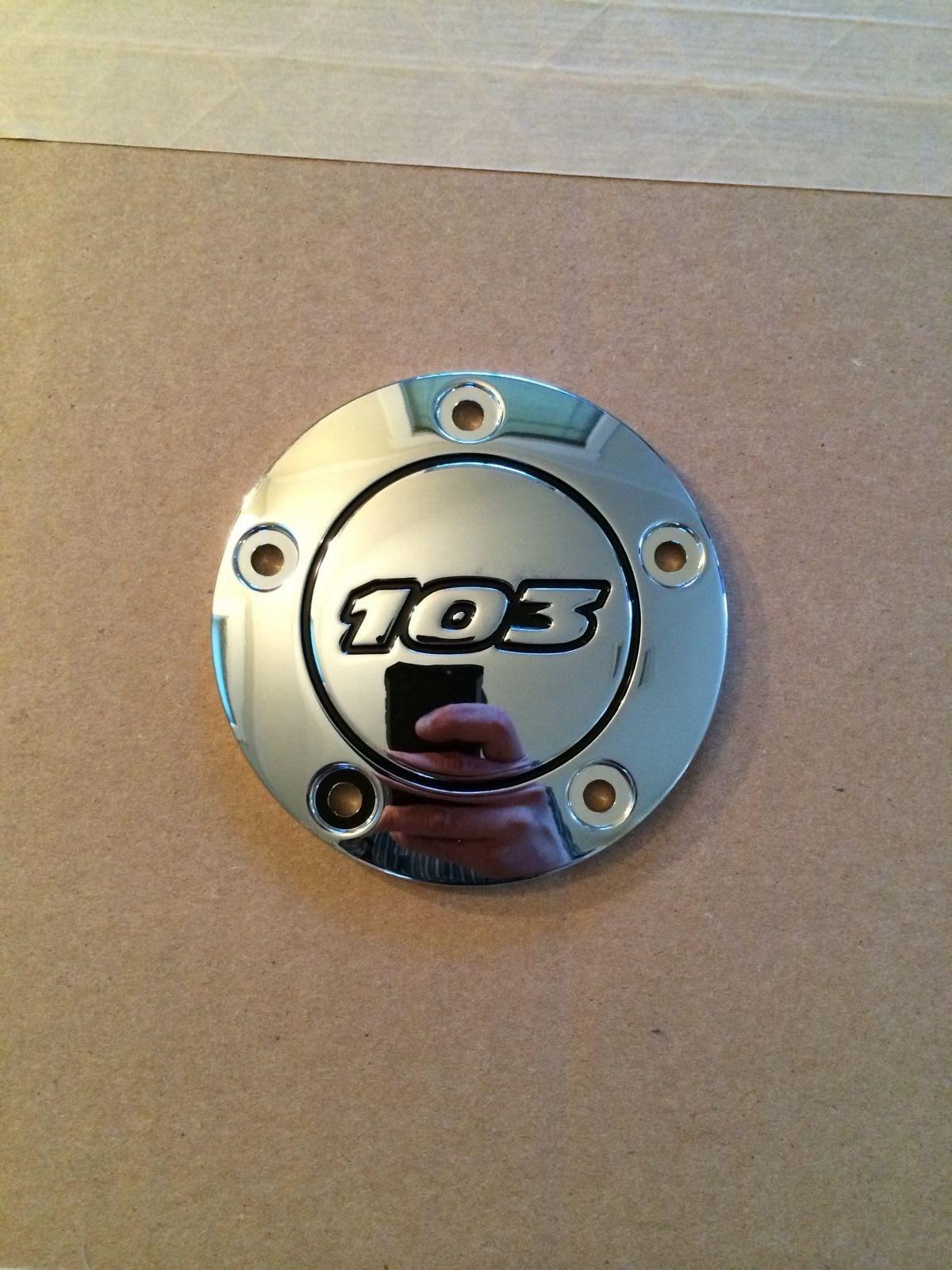 Chrome Plain Spark Plug Cover,for Harley Davidson,by V-Twin