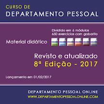 CURSO DE DEPARTAMENTO PESSOAL