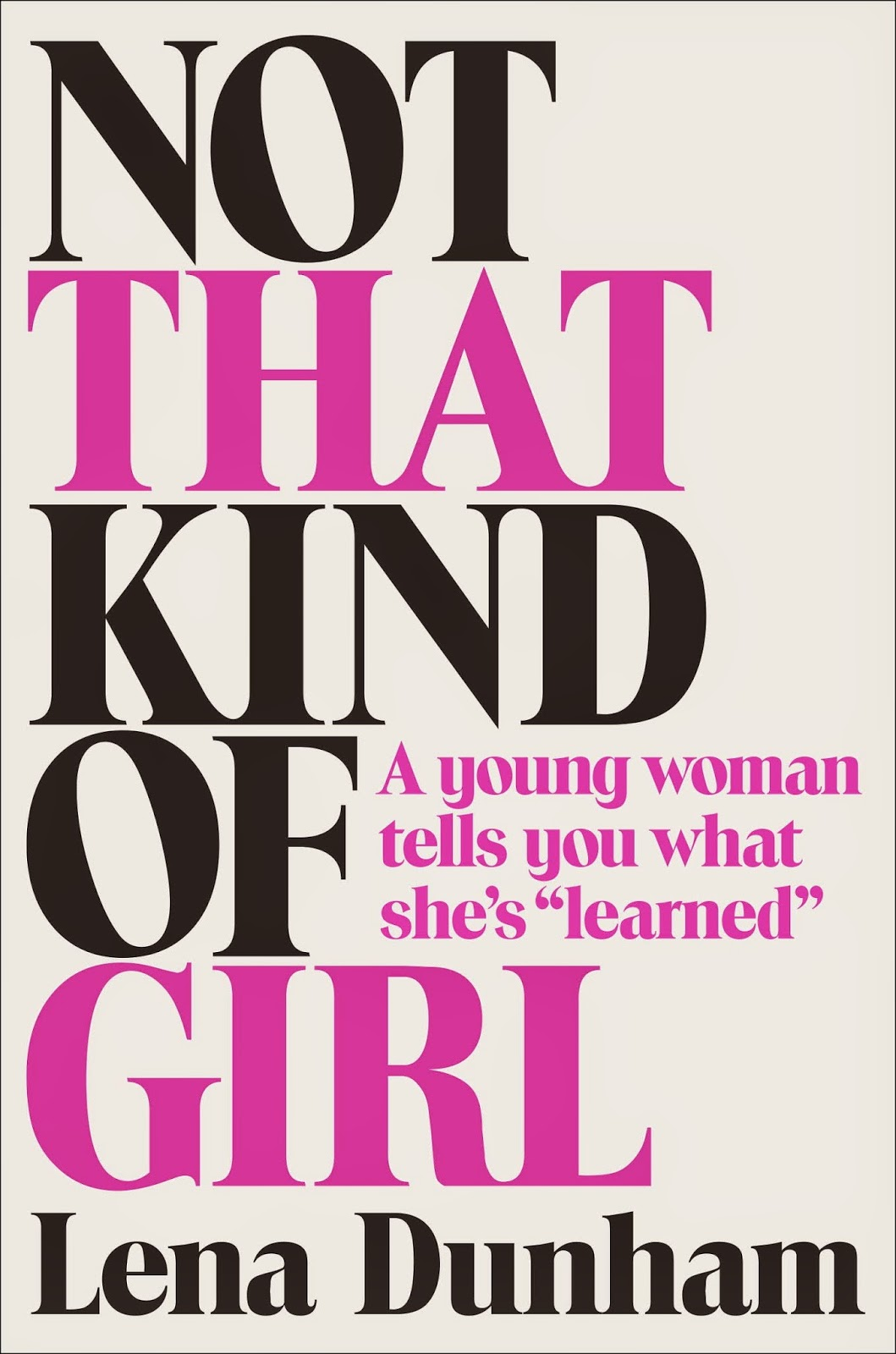 http://www.fischerverlage.de/buch/not_that_kind_of_girl/9783100153562