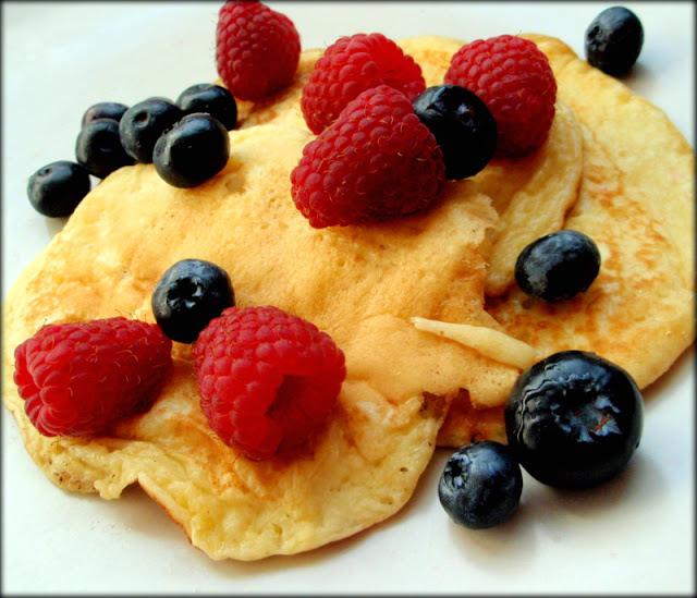 placuszki jogurtowe, śniadanie dla dzieci