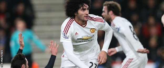 Manchester United have now scored six goals in their past seven Premier League games