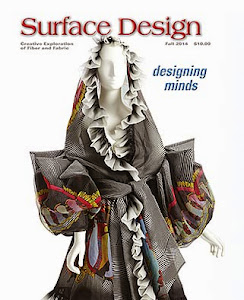 """My Environmental ArtCloth"" article has been published in the current SDA Journal."