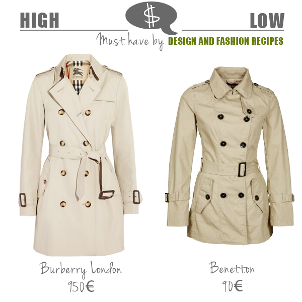 Trench coat on Design and fashion recipes