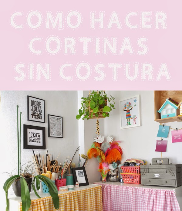 Como hacer cortinas de tela decorar tu casa es for Como hacer una cortina para exterior