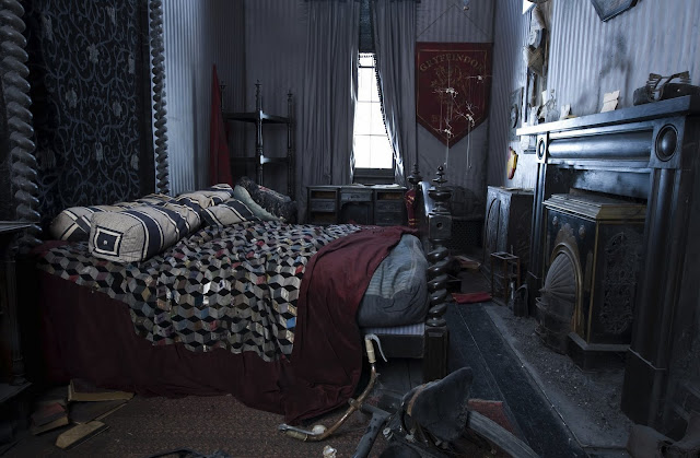 One for the wizards top 5 harry potter themed rooms pics for Bedroom ideas harry potter