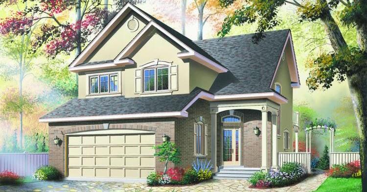 desain rumah apik dua lantai 186 m2 desain rumah griya