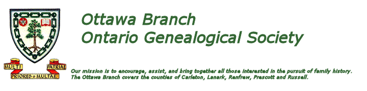 Ottawa Genealogy