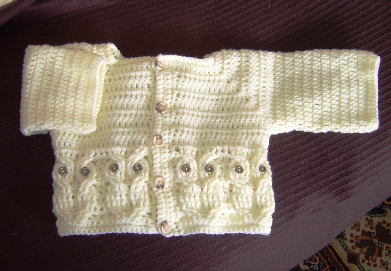 Free Knitting Patterns For Hooded Scarves : Enthusiastic crochetoholic: Baby Clothes for a Great Nephew