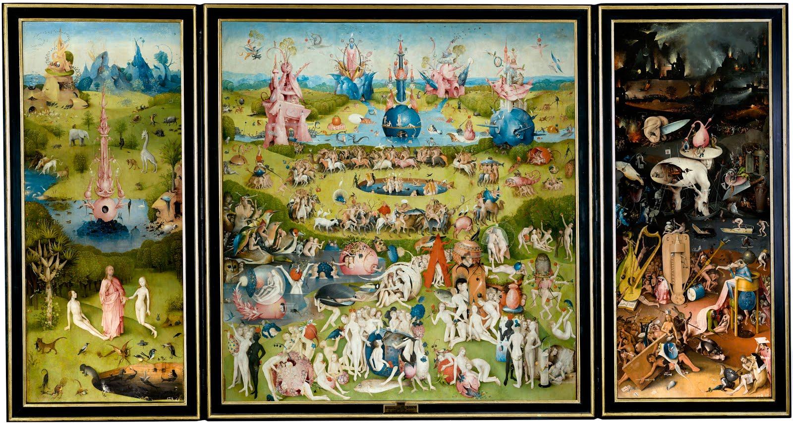 il giardino delle delizie di Hieronymus Bosch
