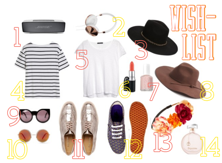 wishlist printemps été 2015 blog plume de blonde