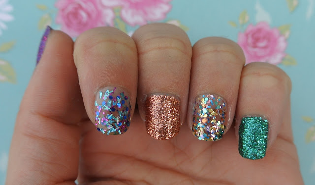 favourite glitter nail varnishes