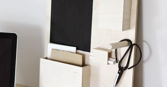 regardsetmaisons diy organisateur de bureau. Black Bedroom Furniture Sets. Home Design Ideas