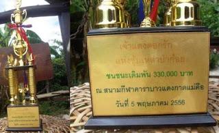 ayam bangkok jawara di thailand