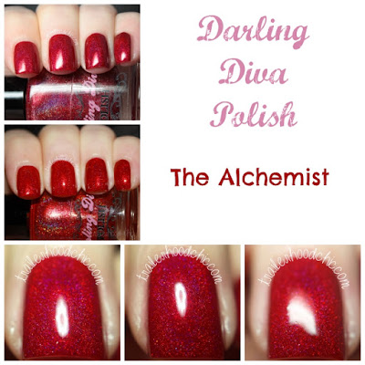 darling diva polish the alchemist swatch
