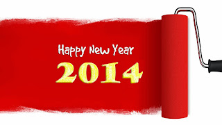 happy New year 2014 على رول