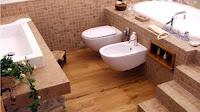 Baños de parquet