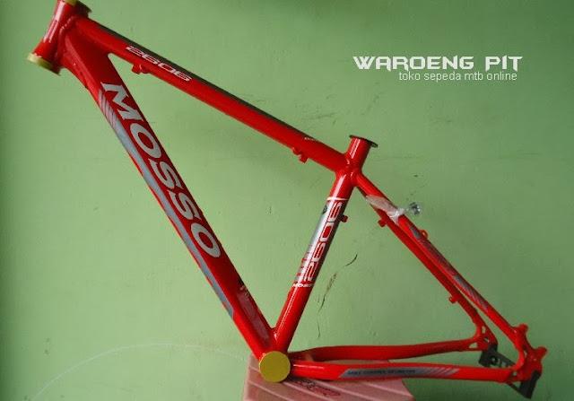 Jual Frame Sepeda Mtb Gunung Downhill Mosso 2606 merah murah 2