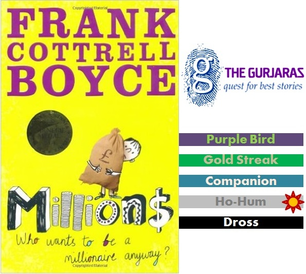 millions by frank cottrell boyce Frank cottrell-boyce is a successful british screenwriter whose film credits include welcome to sarajevo, hilary and jackie and 24 hour party peoplemillions, his debut chidlren's novel, won the 2004 carnegie.
