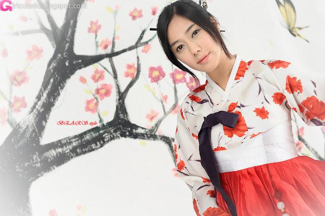 1 Kim Ha Yul in Hanbok-very cute asian girl-girlcute4u.blogspot.com