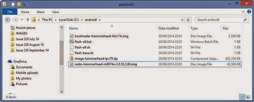 Installation files