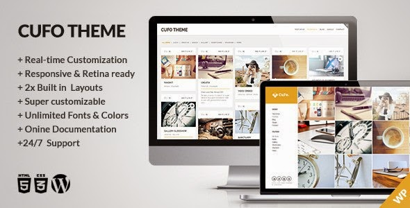 Cufo WordPress Theme