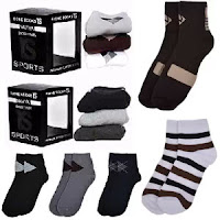 Buy Naviya Men's Sweat Removal Socks Pack of 3  50% Off at Rs. 199 :Buytoearn