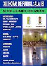 XIII HORAS FÚTBOL SALA 9 JUNIO 2017