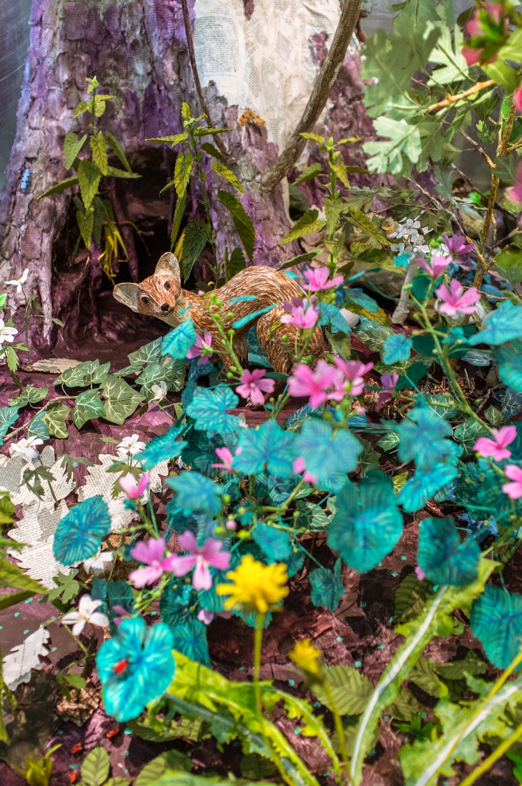 Exposition: Fleurs en campagne, Bagatelle, Anne-Lise Koehler