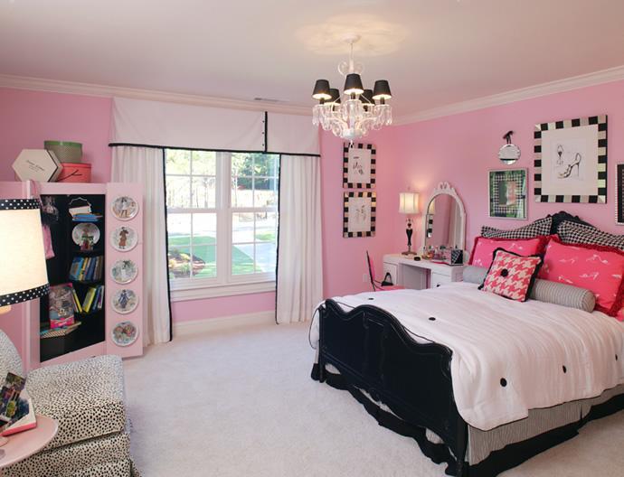 Bedroom Ideas For Teenage Girls 2013 girl bedroom ideas - teenage girl bedroom decor with pink and