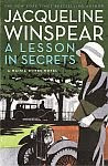 'A Lesson in Secrets' by Jacqueline Winspear US hardcover edition front cover