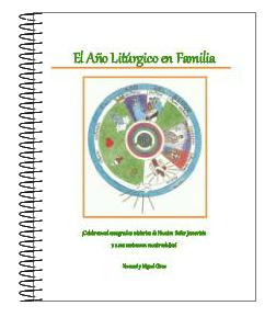 """Nuestro libro """"El Año Litúrgico en Familia"""" a la venta"""