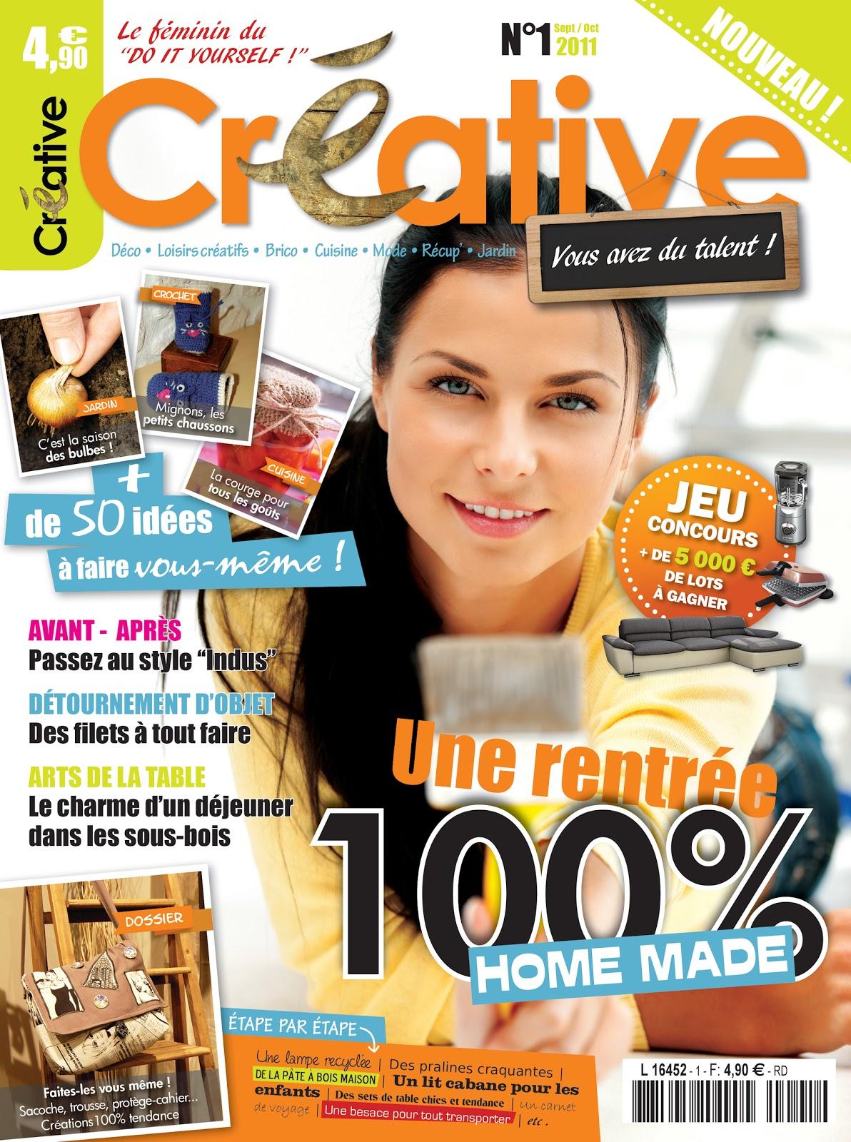 pik toile cr ative le magazine f minin du do it yourself. Black Bedroom Furniture Sets. Home Design Ideas
