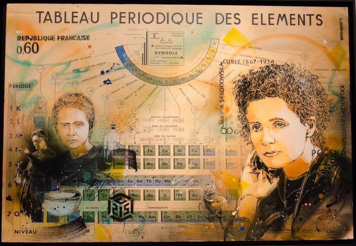 musée des arts et métiers  - expo c215 - Marie Curie