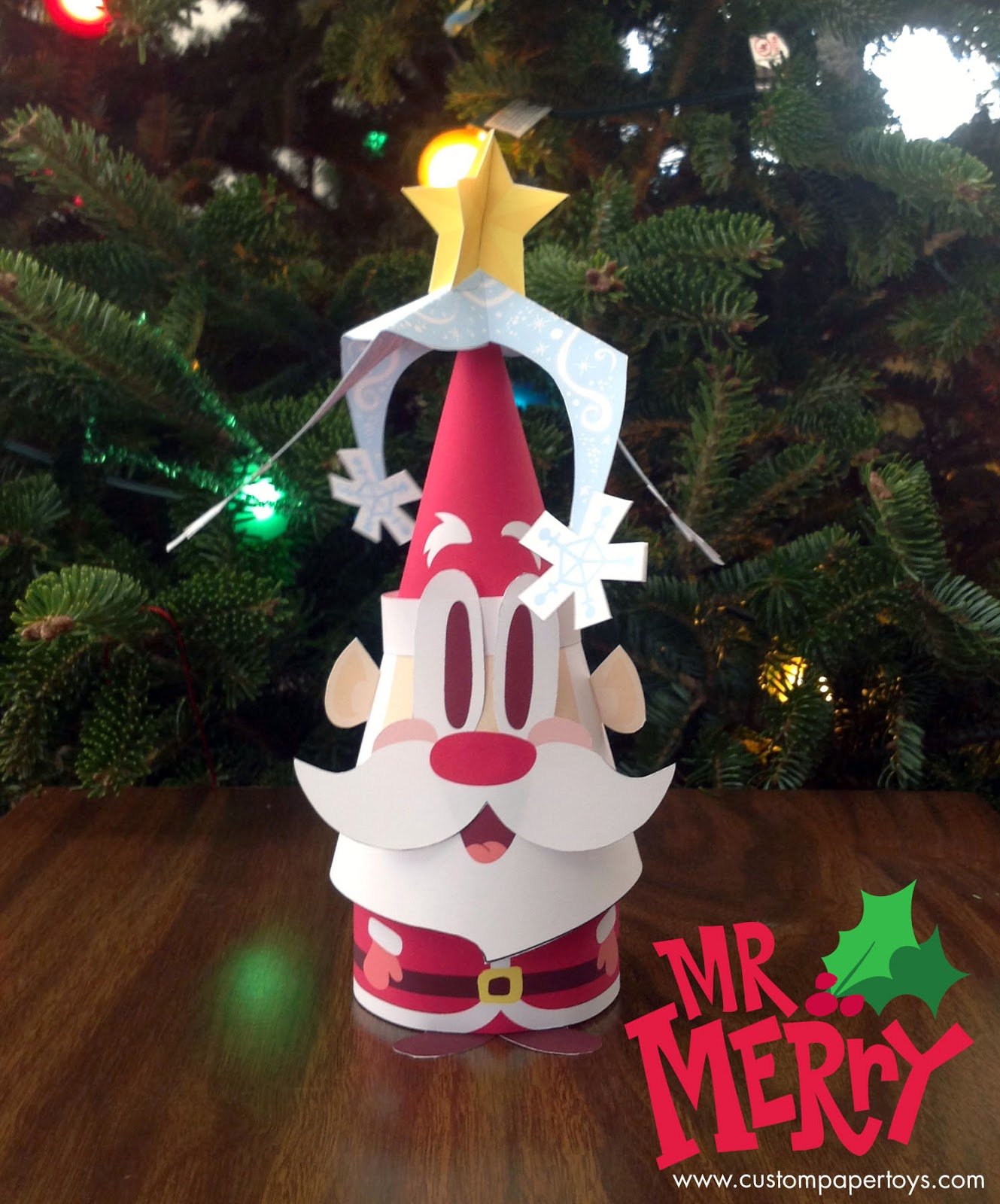 Mr. Merry Paper Toy