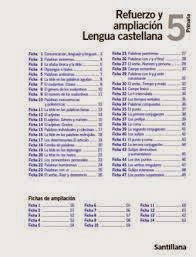 REFUERZO LENGUA 5º 2014-2015